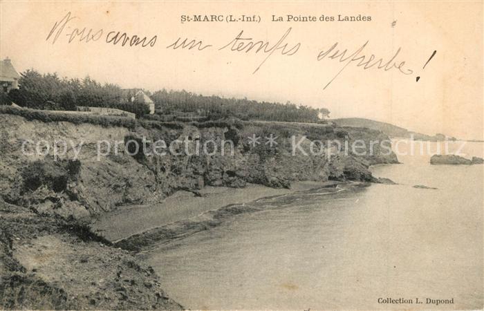 Saint Marc sur Mer Pointe des Landes  Saint Marc sur Mer