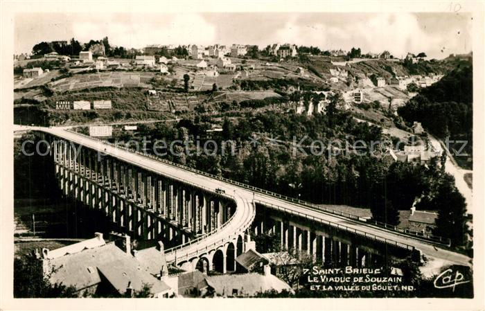 Saint Brieuc_Cotes d_Armor Viaduc de Souzain Saint Brieuc_Cotes d