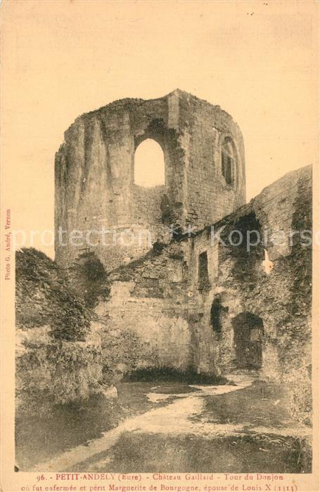 Petit_Andely_Le Chateau Gaillard Tour du Donjon Petit_Andely_Le