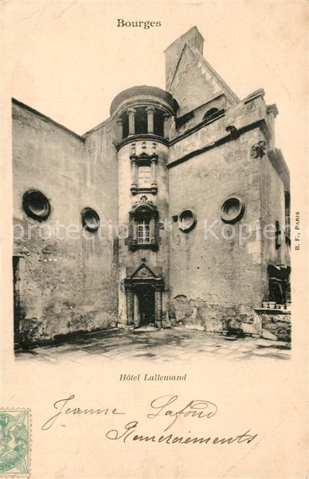 Bourges Hotel Lallemand Bourges