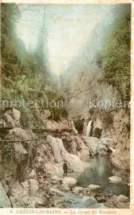 Amelie les Bains Palalda La Gorge du Mondony Amelie les Bains Palalda