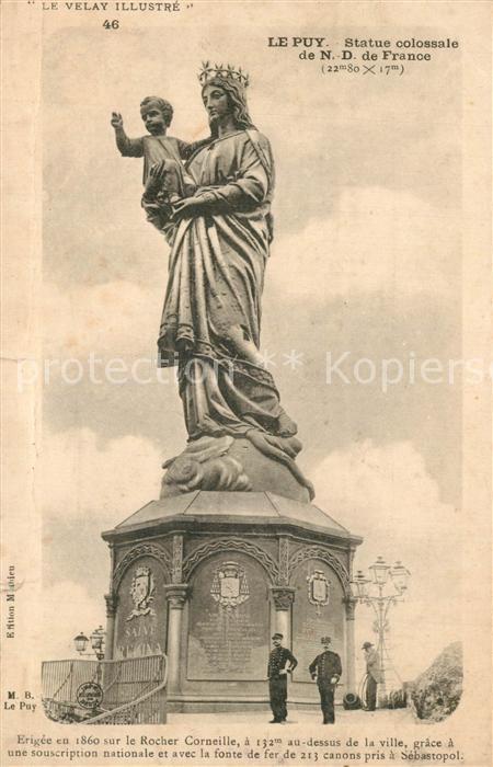 Le_Puy_Doubs Statue colossale de Notre Dame de France Le_Puy_Doubs