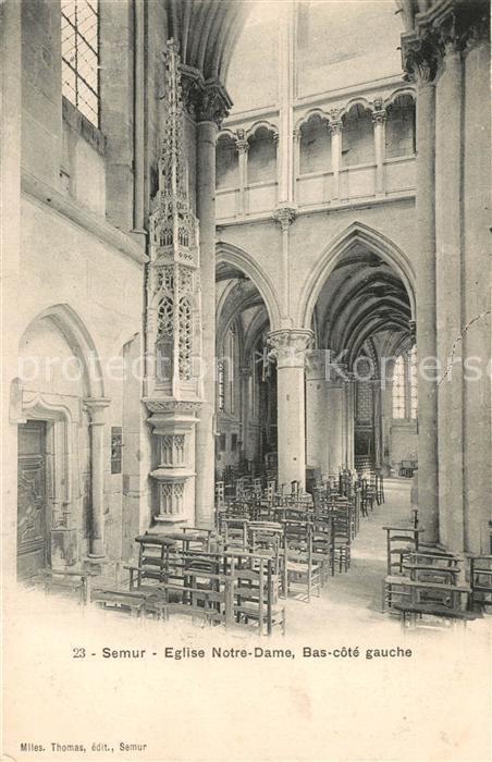 Semur en Auxois Eglise Notre Dame Interieur Semur en Auxois