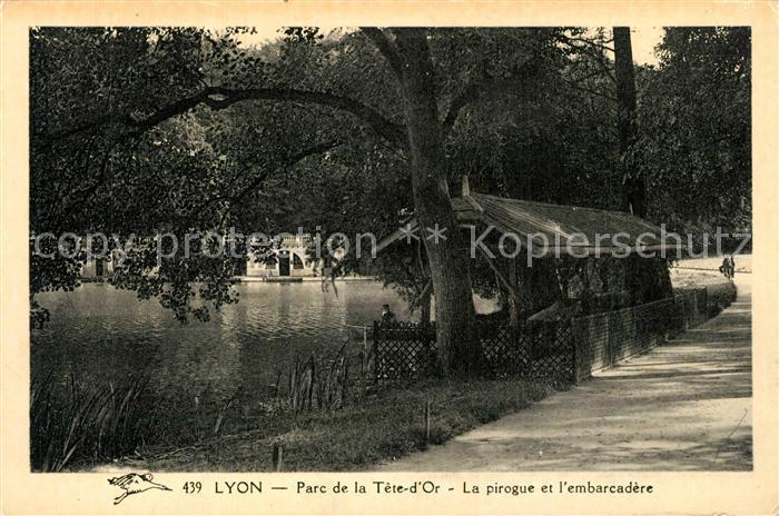 Lyon_France Parc de la Tete d Or Lyon France