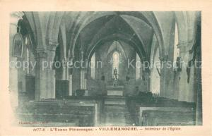 Villemanoche Interieur de l Eglise Villemanoche