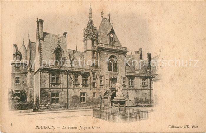 Bourges Palais Jacques Coeur Bourges
