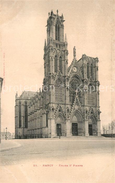 Nancy_Lothringen Eglise Saint Pierre Nancy Lothringen