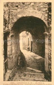 Luceram Vieille Porte Moven Age Excursion aux environs de Nice Luceram