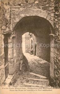 Luceram Vieille Porte Moyen Age Excursion aux environs de Nice Luceram