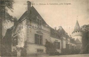 Dordogne Chateau de Canterane pres Issigeac Dordogne