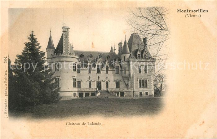 Montmorillon Chateau de Lalande Montmorillon