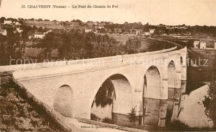 Chauvigny Le Pont du Chemin de Fer Chauvigny