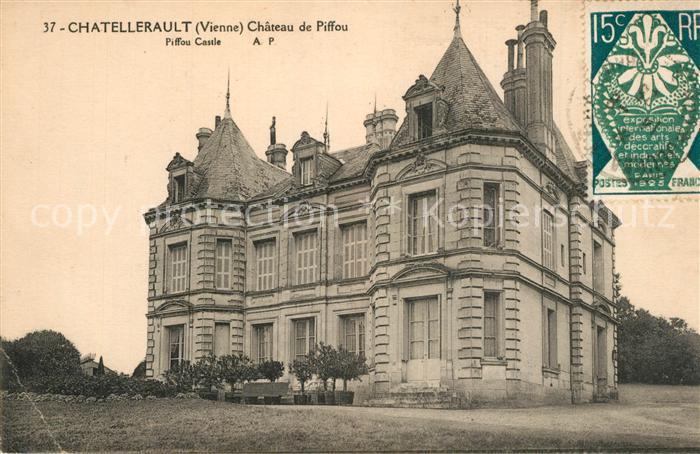 Chatellerault Chateau de Piffou Chatellerault