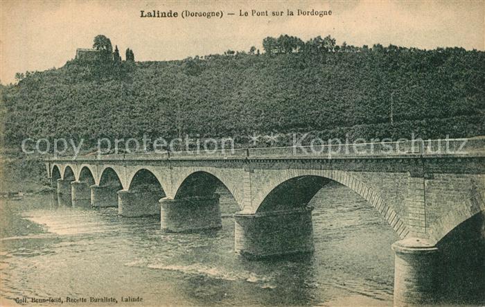 Lalinde Le Pont sur la Dordogne Lalinde
