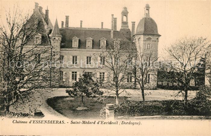 Saint Medard d_Excideuil Chateau d Essendieras Saint Medard d Excideuil