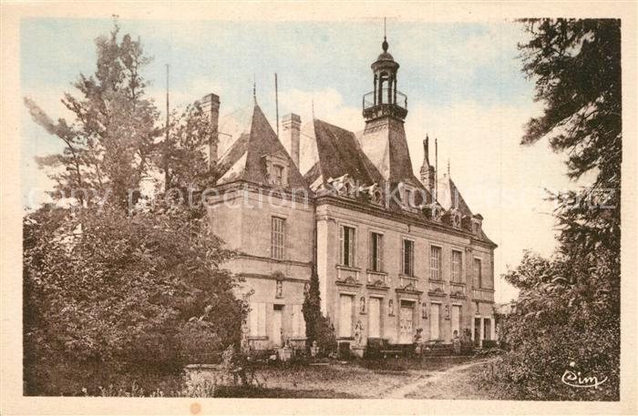 Lencloitre Chateau La Grand Cour Lencloitre