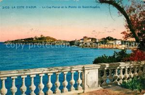 Saint Jean Cap Ferrat et la Pointe de Saint Hospice Saint Jean Cap Ferrat