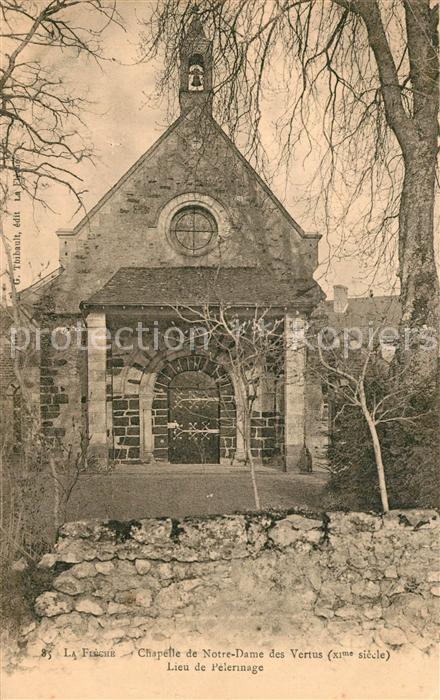La_Fleche Chapelle de Notre Dame des Vertus Lieu de Pelerinage La_Fleche