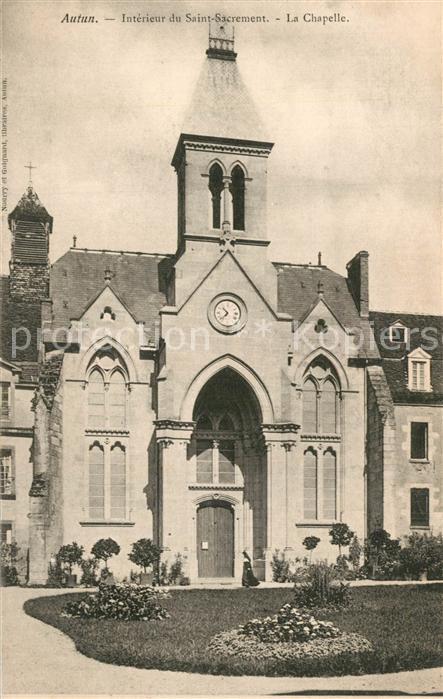 Autun Interieur du Saint Sacrement La Chapelle Autun