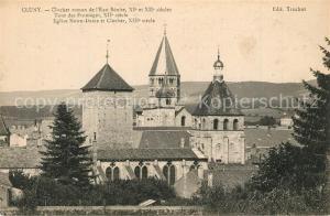 Cluny Clocher roman de l'Eau Benite Tour des Fromages Eglise Notre Dame et Clocher Cluny