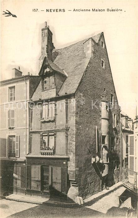 Nevers_Nievre Ancienne Maison Bussiere Nevers Nievre