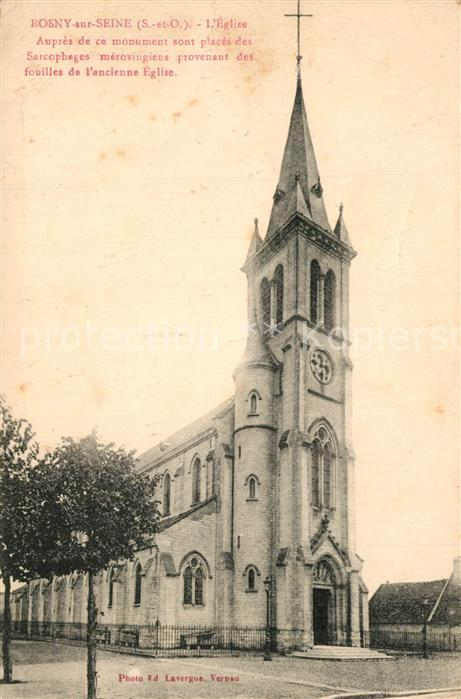 Rosny sur Seine Eglise  Rosny sur Seine