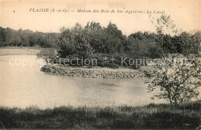 Plaisir Maison des Bois de Ste Appoline Le Canal Plaisir