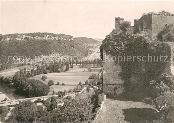 Castelnaud Fayrac Partie du Chateau Vallee du Ceou Castelnaud Fayrac