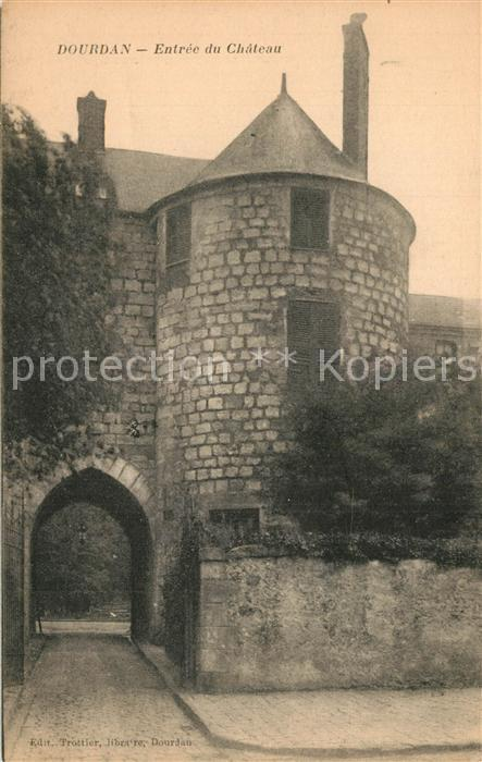 Dourdan Entree du Chateau Dourdan