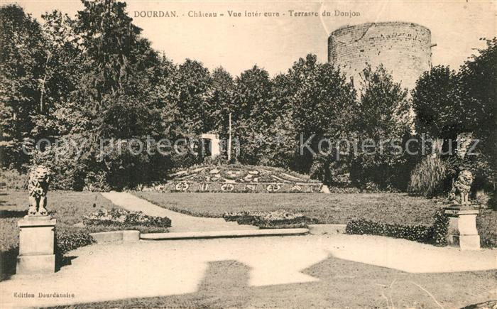 Dourdan Chateau Terrasse du Donjon Dourdan
