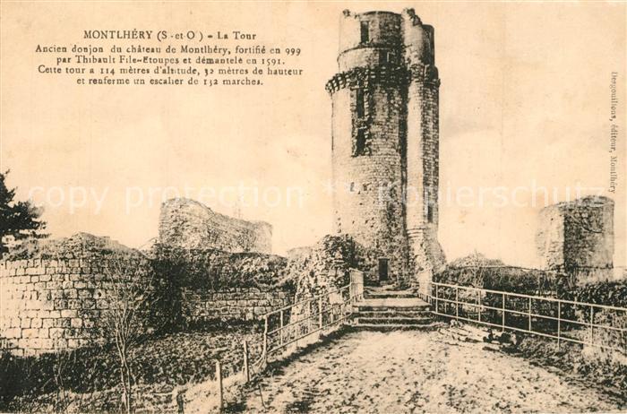 Montlhery La Tour Montlhery