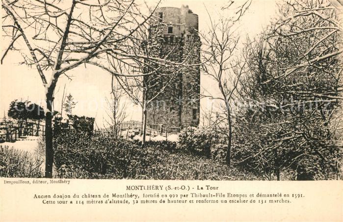 Montlhery La Tour ancien donjon du chateau Montlhery