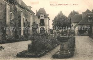 Pontigny Abbaye Le Prieure Pontigny