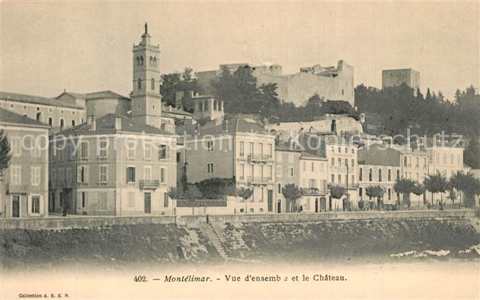 Montelimar Vue d ensemble et le Chateau Montelimar