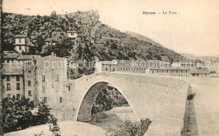 Nyons_Drome Le Pont Nyons Drome