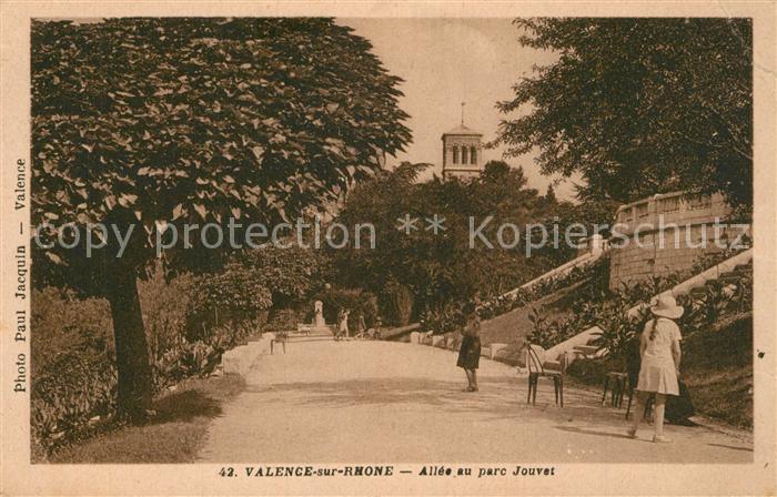 Valence_Drome Allee au Parc Jouvet Valence_Drome