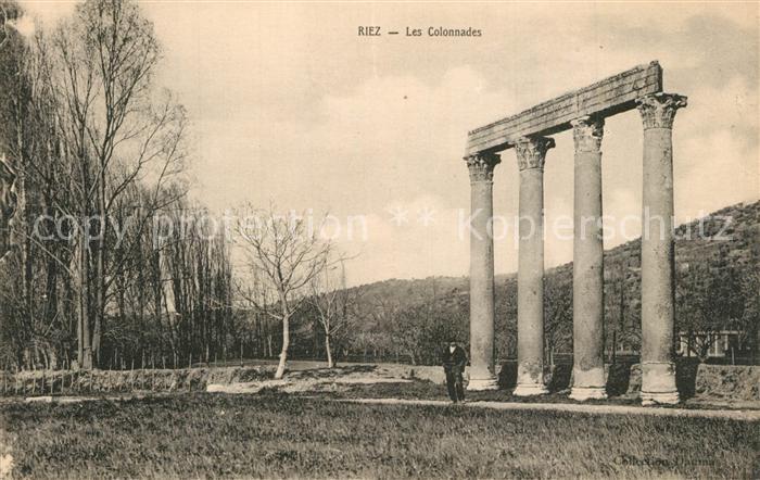Riez Les Colonnades Riez