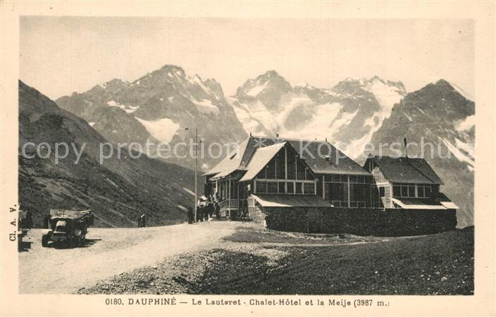 Le_Lautaret Chalet Hotel et la Meije Alpes Dauphines Le_Lautaret