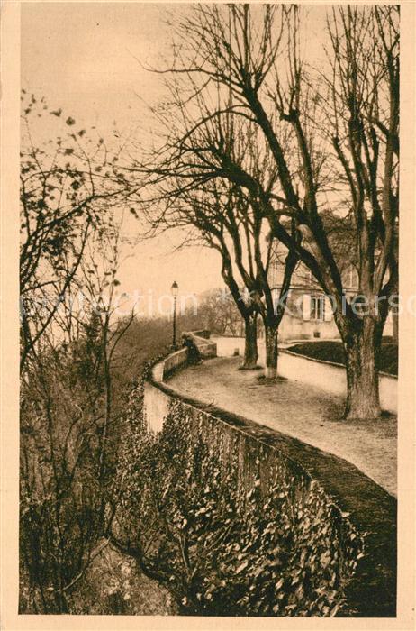 Angouleme Un coin pittoresque du Remprt de Beaulieu Angouleme