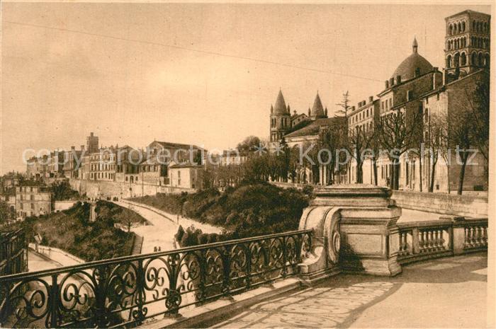 Angouleme Rempart Desaix et Rotondes de Saint Pierre Angouleme
