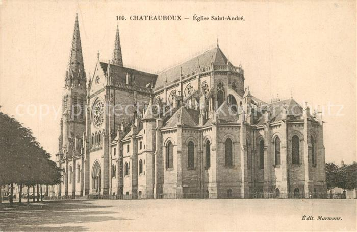 Chateauroux_Indre Eglise Saint Andre Chateauroux Indre