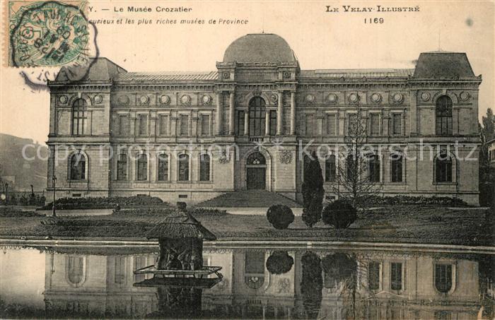 Le_Puy en Velay Musee Crozatier Le_Puy en Velay