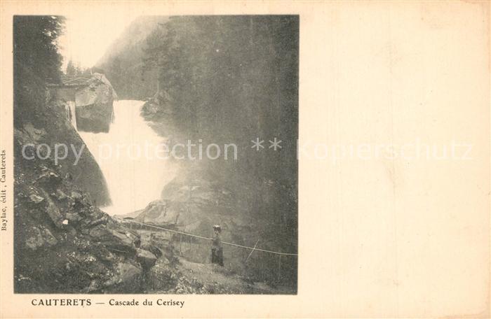 Cauterets Cascade du Cerisey  Cauterets