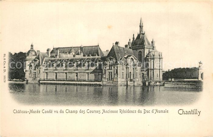 Chantilly_Oise Chateau Musee Conde