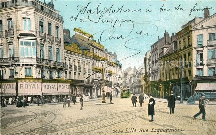 Lille_Nord Rue Esquermoise Lille_Nord