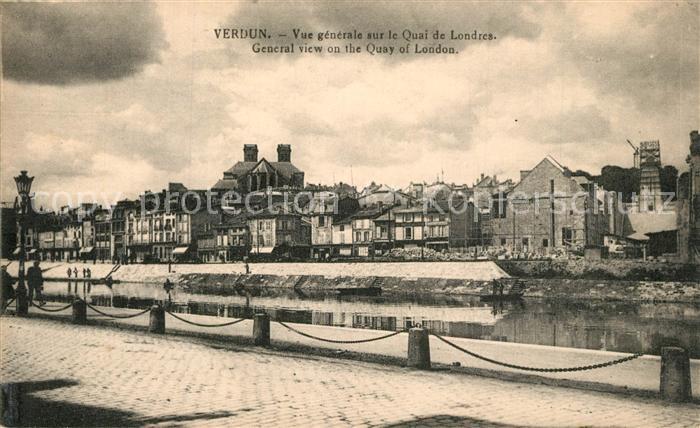 Verdun_Meuse Quai de Londres  Verdun Meuse