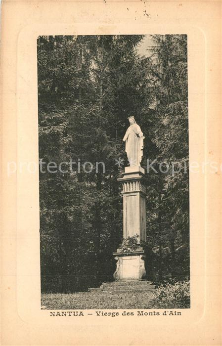 Nantua Vierge des Monts d Ain  Nantua