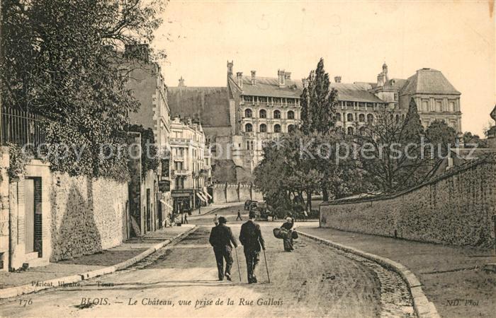 Blois_Loir_et_Cher Chateau Rue Gallois Blois_Loir_et_Cher