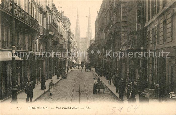 Bordeaux Rue Vital Carles Bordeaux