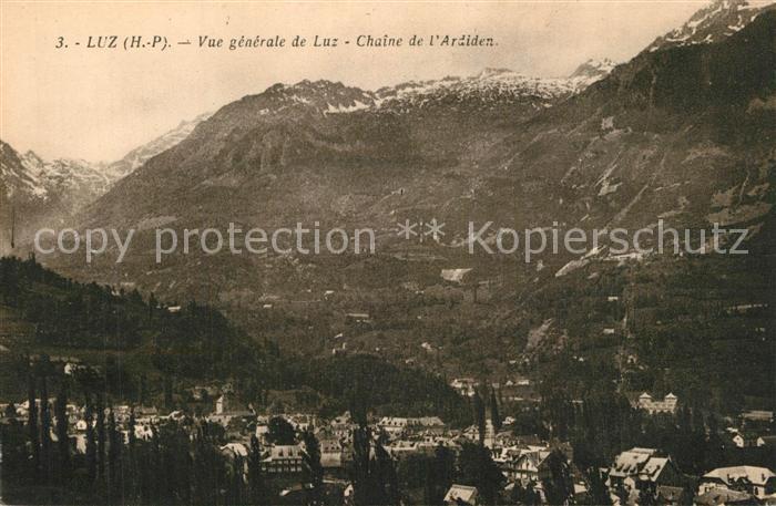 Luz Saint Sauveur_Hautes_Pyrenees Chaine de l Ardiden Luz Saint Sauveur_Hautes